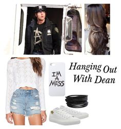 """Hanging Out With Dean ~Rose~"" by basket-case47 ❤ liked on Polyvore"