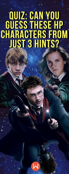 HP Quiz: Can you guess these Harry Potter characters from 3 hints? HP quiz, Harry Potter Trivia, Hogwarts, Wizarding World Quiz, Buzzfeed Quizzes, Playbuzz Quiz, Hogwarts Houses, Fandom Quizzes, Harry Potter Quizzes, Pottermore, Slytherin, Fun Quiz #hermionegranger, #ronweasley, #JKRowling
