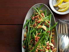 Haricots Verts with Pancetta Recipe : Food Network Kitchens : Food Network - FoodNetwork.com