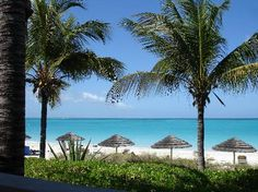 Best beaches ~ Grace Bay, Turks & Caicos, Providenciales- Provo from Bay Bistro at Sibonne