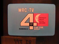 MONDAY NIGHT AT THE MOVIES Promo~Moon Face Artwork~Vintage NBC TV Logo ORIGINAL | eBay