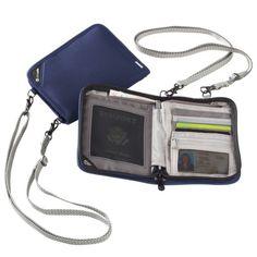 Pacsafe RFIDSafe V150 Compact Organizer $50