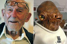 Erik Bauersfeld, voce dell'Ammiraglio Ackbar in Star Wars, è morto a 93 anni | Universal Movies