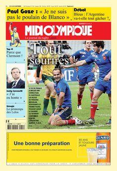 Midi Olympique - Lundi 12 Novembre 2012 - N° 5155