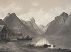 Bernt Lund: Fjærlandsfjorden i Sogn. http://digitalarkivet.no/norbild/