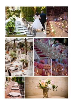 Viva la sposa!: Long tables ideas