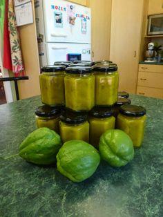 Our Aussie off grid heaven: Mrs Morris's Mustard Choko Pickles.