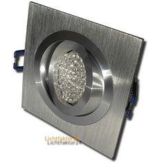 LED Einbaustrahler MIA 230Volt Downlights - 3Watt Deckenstrahler - HV Einbauspot