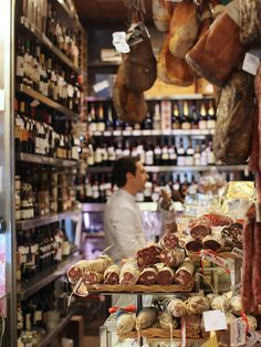 Find the finest selection of meats, cheeses, and wine at Volpetti, the deli owned by the same family that operates Volpetti Più.