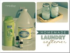 3 ingredient Homemade Laundry Softener that actually works! Easy & cheap to make. Homemade Laundry Softener, Homemade Fabric Softner, Homemade Cleaning Products, Homemade Beauty Products, Diy Cleaners, Cleaners Homemade, Laundry Hacks, Laundry Supplies, Perfume