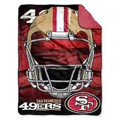 "NFL 60"" x 80"" Home Team Vision Sherpa Throw - 49ers at HSN.com."