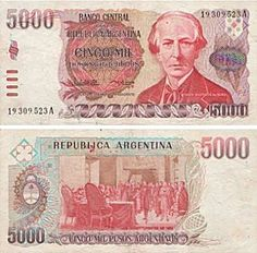 5000 pesos argentinos