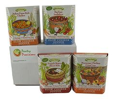 Traditional Around The World: Delicae Slow Cooker Meal Bundle Four Different Flavors, ,