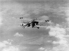 German Albatros C.III - in flight 1915