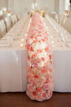 Floral Wedding Garland ~ Photographer: Candi Coffman Photography