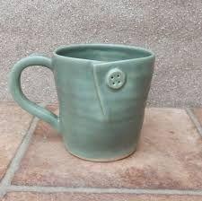 Pair of cuddle mugs coffee tea cup in stoneware wheel thrown handmade ceramic pottery handthrown Hand Built Pottery, Slab Pottery, Pottery Mugs, Ceramic Pottery, Clay Mugs, Ceramic Clay, Stoneware Clay, Pottery Supplies, Pottery Classes