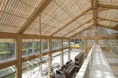 坂茂建築設計 Shigeru Ban Architects CALYPSO Restaurant & Lounge / レストラン CALYPSO http://www.kenchikukenken.co.jp/works/1300244164/767/