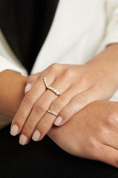 SOPHIE BILLE BRAHE 18-karat gold diamond ring