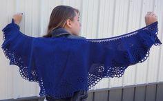 Tsidfy Shawlette Pattern - Knitting Patterns and Crochet Patterns from KnitPicks.com