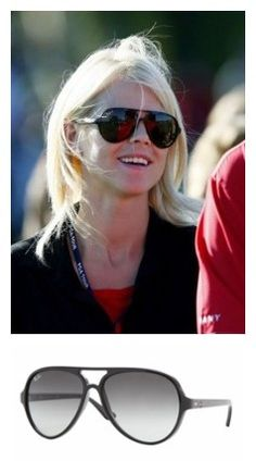 $14.86. What sunglasses does ELIN NORDEGREN wear? Elin Nordegren is rockin' a pair of Ray Ban Cats Sunglasses, these sunglasses are really cool they have the aviator shape.  www.cheapsunglassesvogue.com
