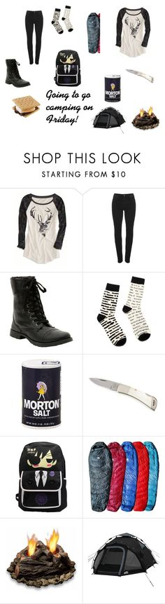 """""""Going to go camping on Friday!"""" by i-love-cake3 ❤ liked on Polyvore featuring American Eagle Outfitters, Vivienne Westwood Anglomania, Hot Topic, Hyke and Real Flame"""