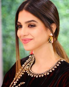 Image may contain: 1 person, closeup Pakistani Models, Pakistani Actress, Velvet Dress Designs, Beautiful Girl Photo, Girly Pictures, Pakistani Bridal, Celebs, Celebrities, Pretty Face