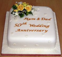 1000+ images about Cakes - Specialty anniversary cakes and birthday cakes on Pinterest | 50th ...