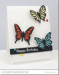 You're Fin-tastic, Flutter of Butterflies - Lace, Bold Paisley Stencil - Barbara Anders  #mftstamps