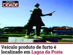 Morador do bairro Américo Silva de Lagoa da Prata é preso por roubo de veículo.  Saiba mais: http://www.jornalcidademg.com.br/veiculo-produto-de-furto-e-localizado-em-lagoa-da-prata/