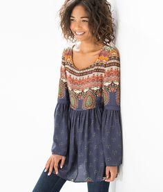 vestido curto etniquita