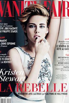 Kristen on the Cover Of Vanity Fair France.