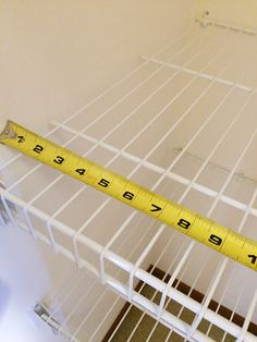 DIY Foam Board Shelves Covered in Wrapping Paper Wire Pantry Shelves, Utility Shelves, Fridge Shelves, Metal Shelves, Wire Shelving, Closet Shelves, Shelf Makeover, Pantry Makeover, Plastic Shelves
