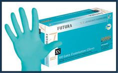 Futura Latex Powder Free Exam Gloves with a Textured Surface. Nitrile Rubber, Male Doctor, Latex Gloves, Natural Skin, Healthy Skin, Dental, Medical, Ph, Powder