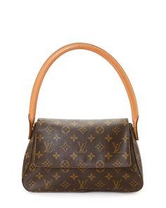 Louis Vuitton Monogram Mini Looping Handbag