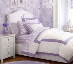 Playfully purple Girls' Bedroom | Pottery Barn Kids
