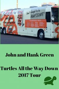 John and Hank Green: Turtles All the Way Down Tour - Shooting Stars Mag