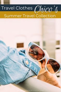 Chico& Summer Travel Collection is the perfect place to find your summer travel outfit airport clothing. Comfortable, flexible and easy on the wrinkles, this collection is perfect for mixing and matching whether your trip is 3 days or 3 weeks! Travel Packing Outfits, Packing Clothes, Travel Outfit Summer, Packing List For Travel, Summer Travel, Summer Outfits, Packing Tips, Travel Tips, Travel Destinations