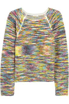 Chloé rainbow knit sweater