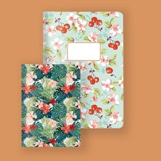 Workbook A5, Cherries - Workbook A6, Hibiscus - Cedon @abodeebenelux