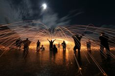 From: 15 Stunning Examples of Steel Wool Photography - http://viralister.com/stunning-steel-wool-photography/