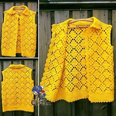 9 Tips for knitting – By Zazok Crochet Tunic Pattern, Crochet Shirt, Cardigan Pattern, Crochet Stitches, Knitting Patterns, Crochet Girls, Crochet Woman, Easy Crochet, Tutorials