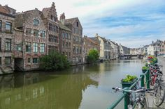 """Ghent, Belgium - Lonely Planet named it """"Europe's best kept secret"""" and a must see destination in 2011. National Geographic Traveler Magazine listed it as the most authentic historic city in the world. And Ghent truly is a city that comes to life after sunset and has more food options than a supermarket. #travel #Belgium"""