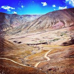 Road to Iruya, Salta, Argentina.