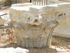 Corinthian capital from Roman Ashkelon