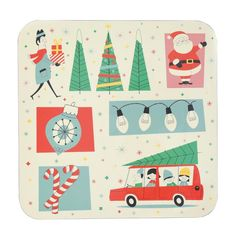 Festive Family Christmas Placemat | dotcomgiftshop