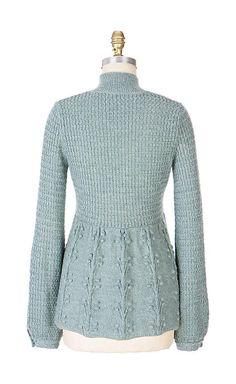 Crochet Woman, Knit Crochet, Woolen Tops, Lace Knitting Patterns, Girls Sweaters, Autumnal, Sweater Jacket, Clothing Items, Istanbul