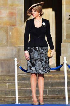 koningin Máxima. Staatsbezoek Argentijnse president, 27 maart 2017