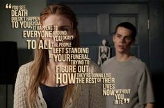 Wolf is one of the most respected and fearful animals. Whether it's The Wolf of Wall Street, Teen Wolf or wolf in general, enjoy Wolf Quotes to pump you up. Stiles Teen Wolf, Teen Wolf Stydia, Stiles And Lydia, Top Quotes, Movie Quotes, Funny Quotes, Lydia Banshee, Teenager Posts Sarcasm, Teen Wolf Quotes