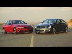 Cadillac ATS 2.0T vs BMW 328i! - Head 2 Head Episode 17