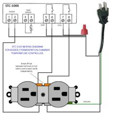 STC1000 Wiring Diagram Homemade Temperature Control